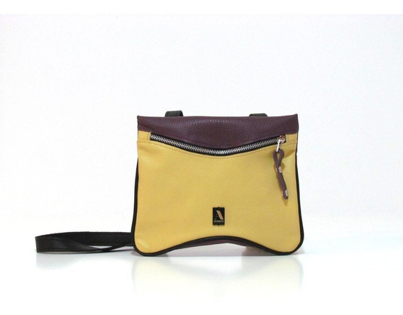 Saddle Melo (violeta Y Amarillo)