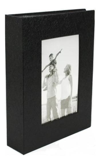 Álbum Fotográfico 10x15 P/200 Fotos Porta Retrato Na Capa