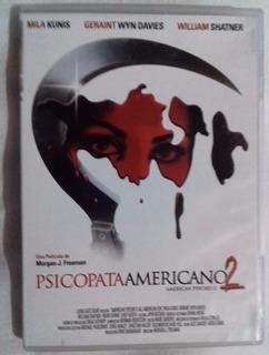 Seminuevo Pelicula Psicopata Americano 2 Dvd Terror Thriller