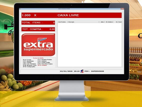Software Sistema Pdv Mercados Padaria Cobal Frente Loja 1,99