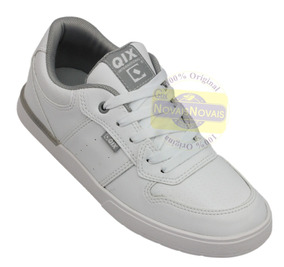 Tênis Qix Masculino Fleek Branco Modelo 110052 100% Original