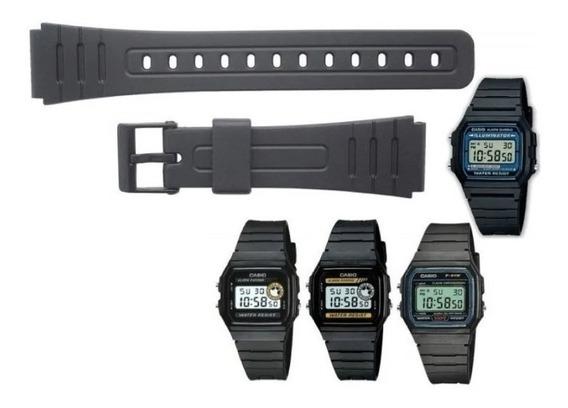 Pulseira Para Relógios Casio Casio F91w, F105w, F28w, F94w
