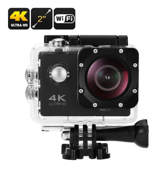 Action Camera Go Sport Pro Wi-fi Lcd 4k 1080p Prova D