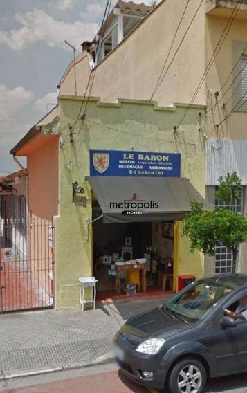 Salão À Venda, 133 M² Por R$ 1.070.000,00 - Santa Maria - São Caetano Do Sul/sp - Sl0055
