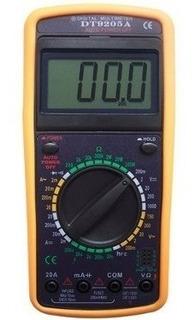 Multímetro Digital Com Capacímetro + Aviso Sonoro Bip