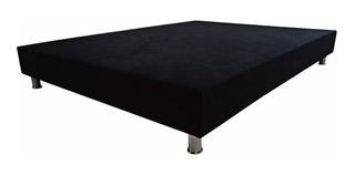 Base Cama Negro Doble