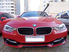 Bmw 320i Sport Tb 2.0 Flex 2015/2015 Vermelha, Único Dono
