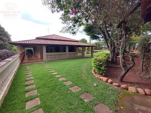 Lindissima Chacara Em Itapira Sp, No Bairro Machadinho, Localizada Na Região Do Circuito Das Águas Paulista - Ch00003 - 69327008