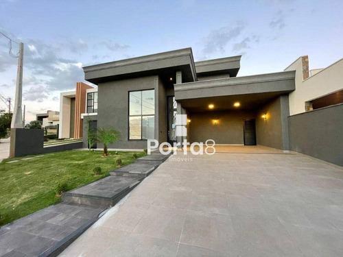 Imagem 1 de 1 de Casa À Venda, 225 M² Por R$ 1.350.000,00 - Residencial Gaivota Ii - São José Do Rio Preto/sp - Ca2998