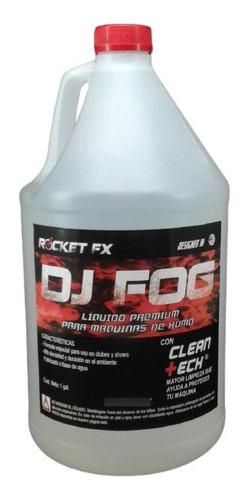 Imagen 1 de 4 de Liquido Humo Dj Fog Para Máquinas Chauvet Martin American