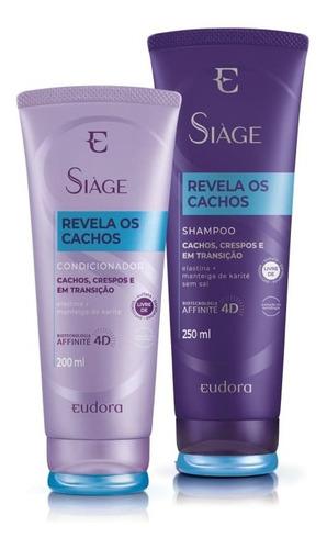 Imagem 1 de 1 de Shampoo + Condicionador Revela Os Cachos 4d - Eudora