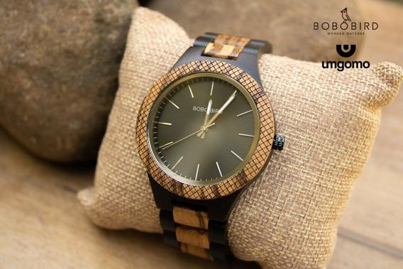 Relógio De Madeira Gallesia