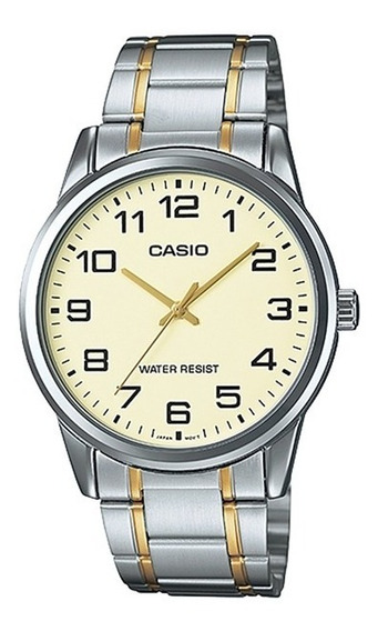 Relogio Masculino Casio Collection - Mtp-v001sg-9budf