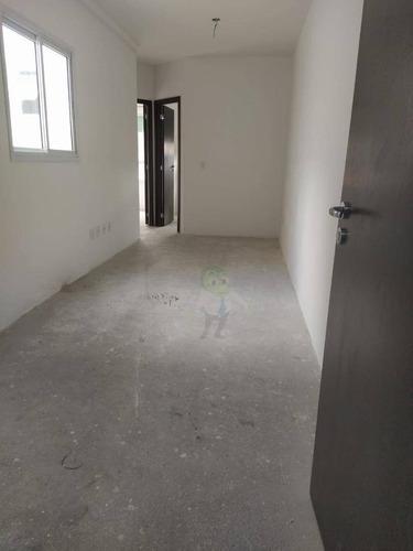 Apartamento Com 2 Dormitórios À Venda, 45 M² Por R$ 314.000,00 - Campestre - Santo André/sp - Ap1538