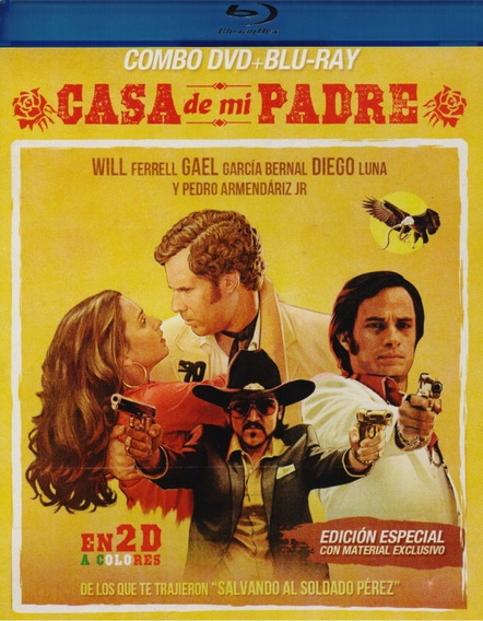 La Casa De Mi Padre Gael Garcia Pelicula Blu-ray + Dvd