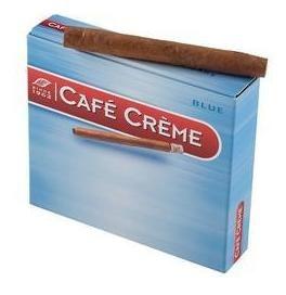 Café Crème Cigarros Pack Por 100 Unidades Sabor Blue - Chapa