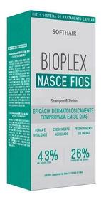 Bioplex Nasce Fios Shampoo E Tônico Softhair