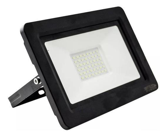 Refletor Holofote 100w Led Branco Frio Bivolt E Prova D