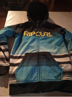Campera Rip Curl Softshell, Impermeable Con Capucha Talle12