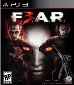 Fear 3 Ps3 Mídia Física Semi-novo