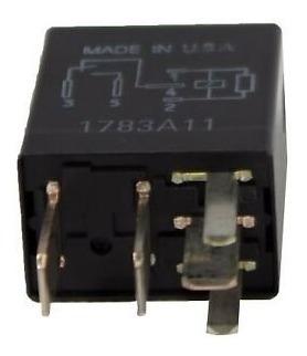 Rele Multifunção 40 Amp (5 Terminais) - Preto 8t2z/14n089/b
