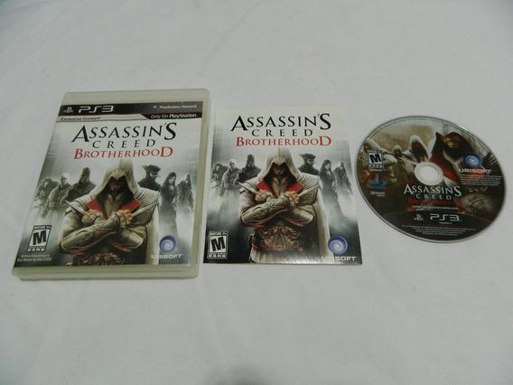 Assassins Creed Brotherhood Playstation 3 Ps3 Mídia Física