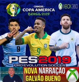 Patch Pes 2019 Xbox 360 Copa América Show !