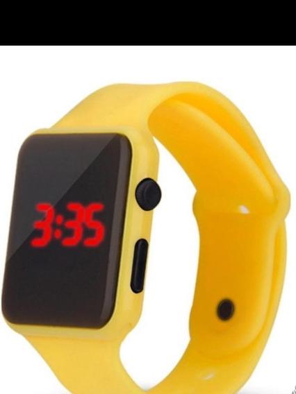 Relógio De Pulso De Led Digital Esportivo