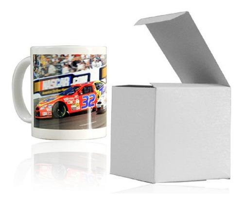 Mug Blanco Para Sublimación 11 Oz Con Caja - Calidad Aaa