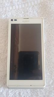 Sony Xperia C2104 Branco Sucata P/aproveitar Peças.ref: R479