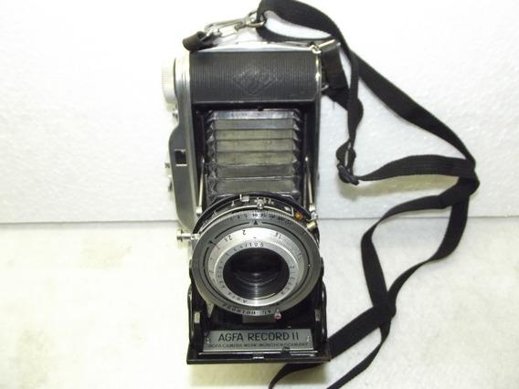 Maquina Fotografica Antiga De Fole Agfa Record 2 Germany
