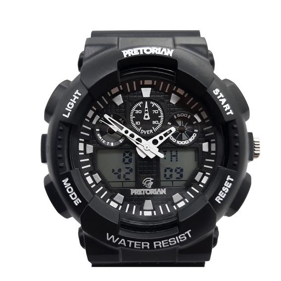 Relógio Pretorian Command Black/white ( Wprt-02-3)