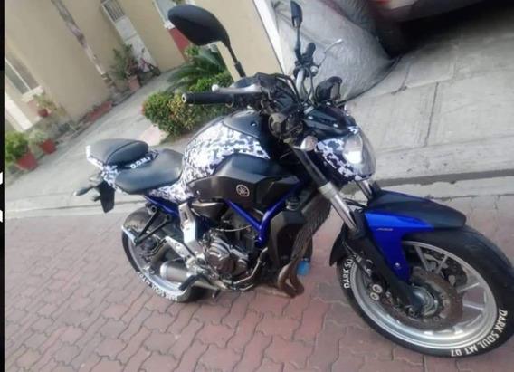 Moto Yamaha Mt 700 Año 2017