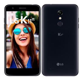 Smartphone Lg K11 Alpha, Dual, Preto, Tela 5.3 , 8mp, 16gb