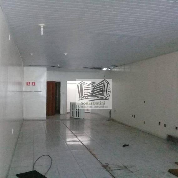 Salão Para Alugar, 100 M² Por R$ 2.500/mês - Mooca - São Paulo/sp - Sl0034