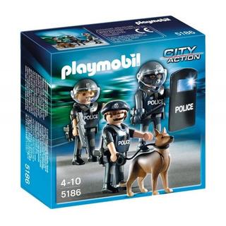 Playmobil Policía City Action Con Perro (5186)