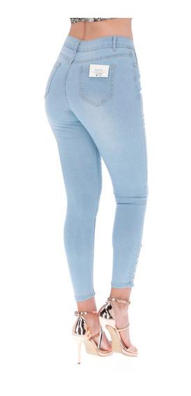 Pantalones Colmbianos Jeans Dama Pantalon De Mezclilla Mujer Strech Varias Tallas Calidad Levanta Pompa Push Up -05