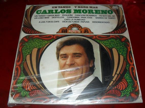Carlos Moreno Un Tango Y Nada Mas Disco Vinilo Tap 9 Disc 10
