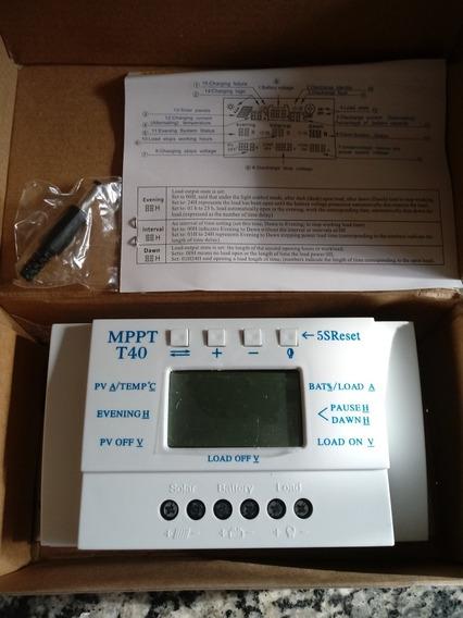 Controlador De Carga 40 Amperes