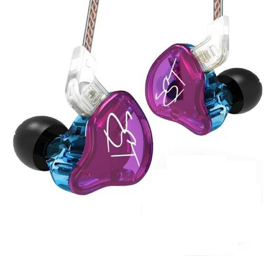 Fone Kz Zst In Ear Noise-canceling Com Mic - Pronta Entrega