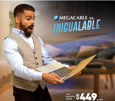 Megacable Le Ofrece Los Nuevos Paquetes De Internet.