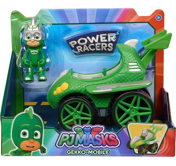 Pj Masks Power Racer - Gekko & Gekko-mobile - Juguete Niño