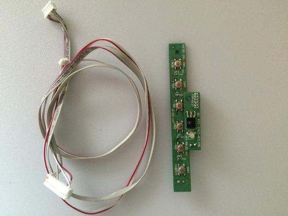 Teclado E Receptor Com Cabo Cce Led L322