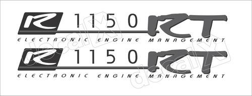 Imagem 1 de 1 de Emblema Adesivo Bmw R1150rt Par Bmr1150rt