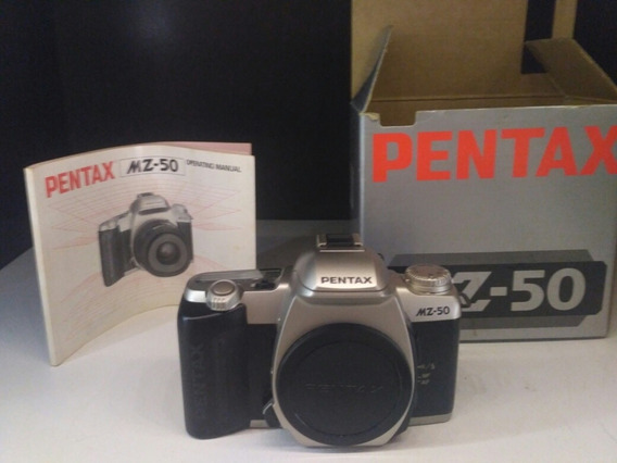 Pentax Mz-50+manual+caixa Original