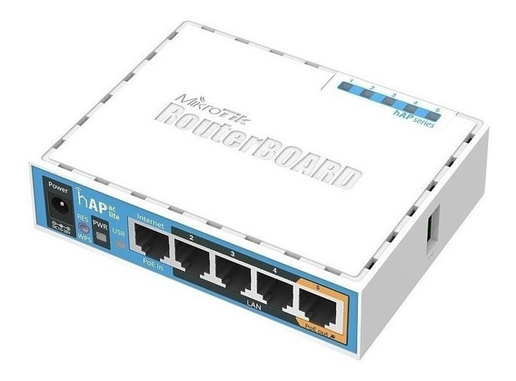 Access point interior MikroTik RouterBOARD hAP RB951Ui-2nD blanco/azul