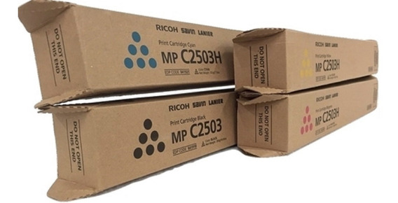 1 Kit Toner Ricoh Mpc2503 Original