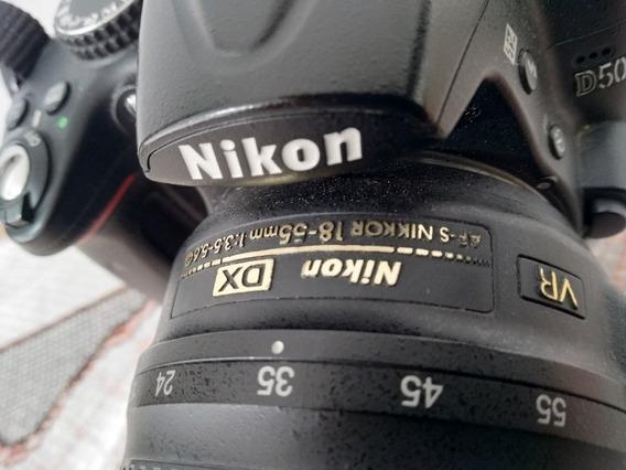 Câmera Nikon D5000 + Lente 18-55