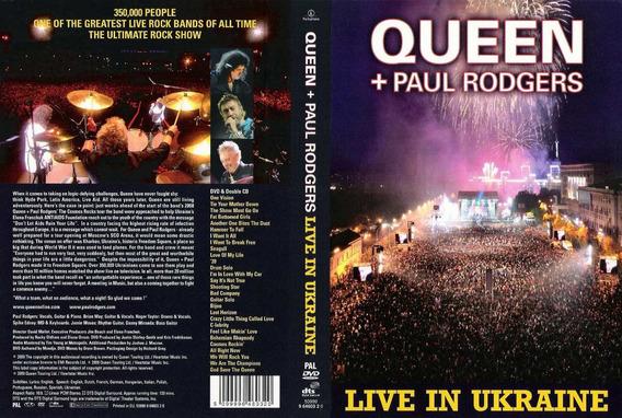 Queen + Paul Rodgers - Live In Ukraine Dvd - E
