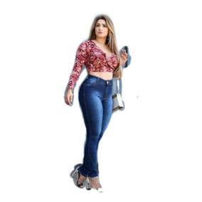 Calças Femininas Jeans Baratas Com Lycra Levanta Bumbum